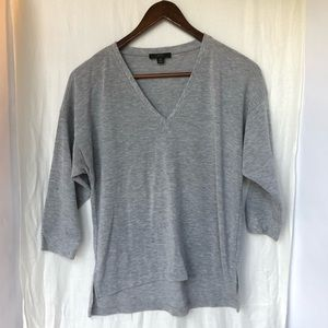 3/$23 J. Crew Gray 3/4 Sleeve Sweater